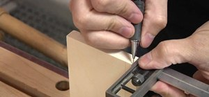 Make a hand cut half blind dovetail easily