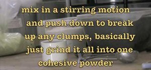 Make explosive gun powder