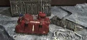 Use proper tactics with the Eldar Fire Prism tank in Warhammer 40,000