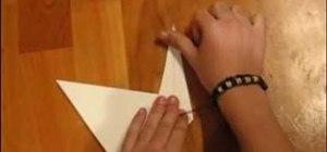 """Fold a """"Prison Break""""-style paper swan"""