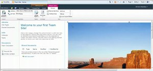 Edit your SharePoint 2010 home page