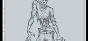 How To Draw A Zombie Head Drawing Illustration Wonderhowto
