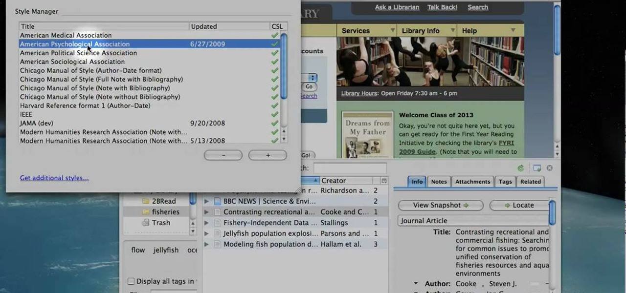 how to use zotero standalone