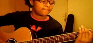 """Play """"Decode"""" by Paramore on acoustic guitar"""