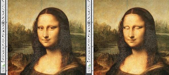 Mona Lisa Eyes Moving How to Make Mona Lisa's Eyes