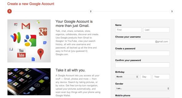 how to make new profile picyure on google accounts