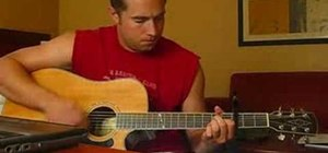 "Play ""Watching Airplanes"" by Gary Allan on guitar"