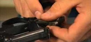 Clean and lubricate a Smith & Wesson revolver