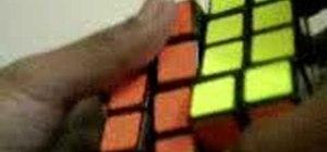 Solve the 4x4 Rubik's Cube Revenge
