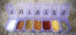 Mod a Pill Organizer into a Camping-Size Spice Shaker