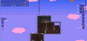 Make a fish bowl in Terraria