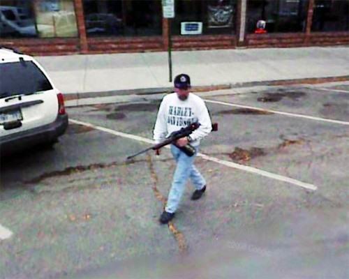 Spy With Google Street View