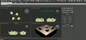 Create & manipulate shape lights in 3ds Max 2010