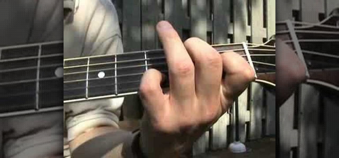 How To Play Locked In The Trunk On The Acoustic Guitar Acoustic