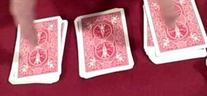 Perform an easy and amazing mind reading card trick