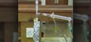 Perform fractional distillation in the chemistry lab