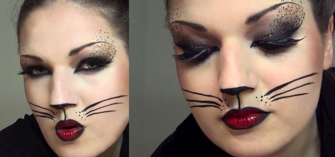 How To Create A Sexy Cat Makeup Look With Leopard Spots For