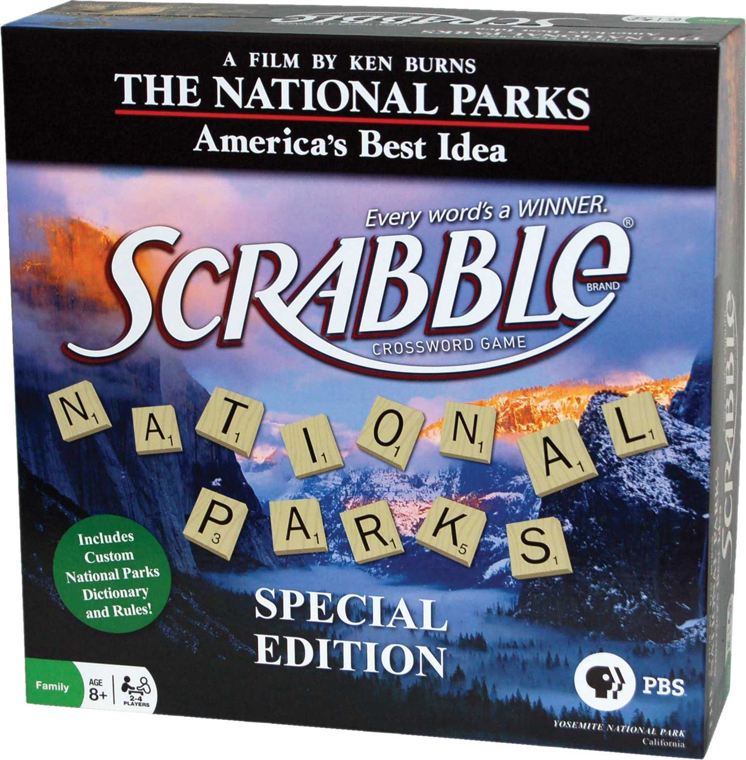 the national parks scrabble edition 2009