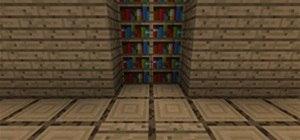 Create a Hidden Piston Door in Minecraft