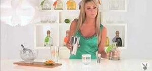 Make a Twisted Gimlet with Playmate Sara Jean