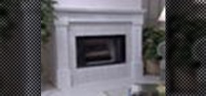Build a fireplace mantel from scratch