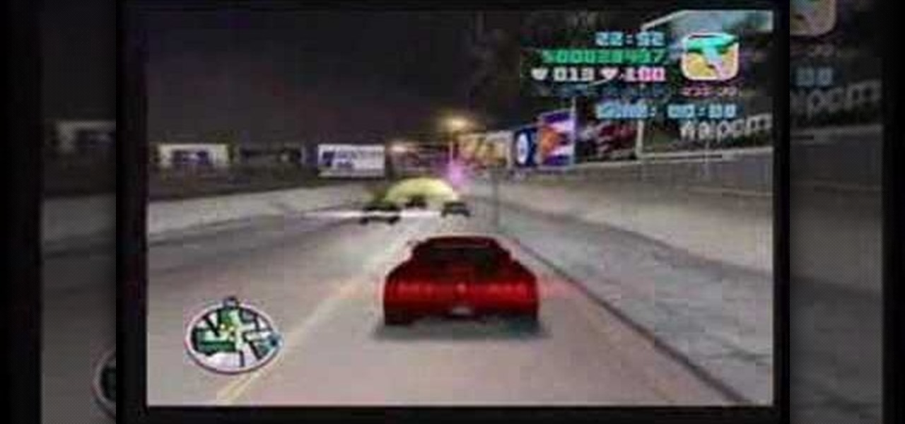 How to Beat the Sunshine Autos races in GTA Vice City for
