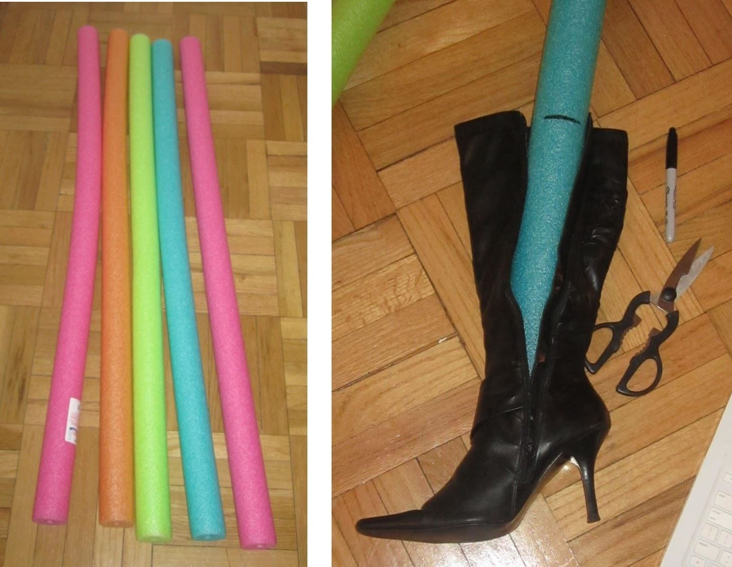 How To Keep Tall Boots From Slouching And Organize Your
