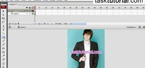 Create a gradient image animation in Flash