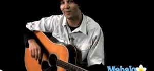 """Play """"Everlong"""" by the Foo Fighters on acoustic guitar"""