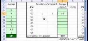 Hide formula errors in Microsoft Excel 2007