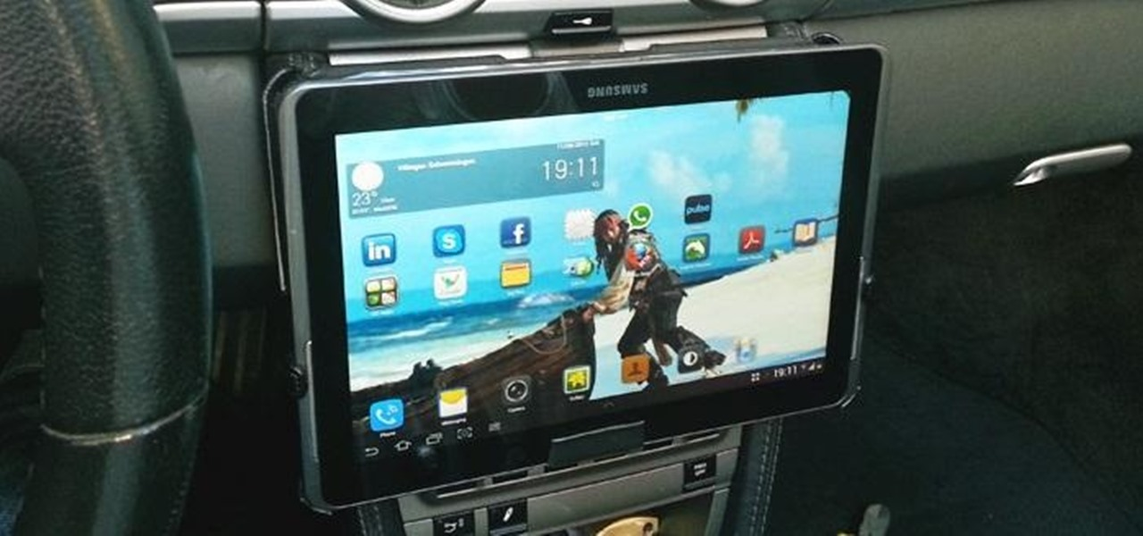 Add a samsung galaxy or apple ipad to your cars dash with this diy add a samsung galaxy or apple ipad to your cars dash with this diy removable tablet keyboard keysfo Image collections