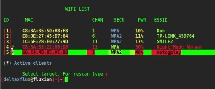 Fluxion : Cracking Wifi Without Bruteforce or Wordlist in Kali Linux 2017.1. [Full Guide]