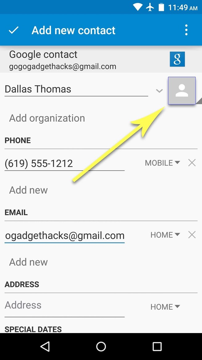 Android Basics: How to Add or Import Contacts