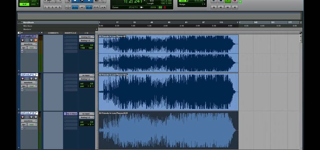 Remove Vocals from a Song in Pro Tools