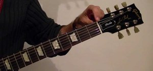 Tune a guitar for guitar playing beginners