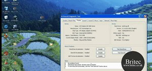 Use the DirectX Diagnostic tool (DXDIAG) on a Microsoft Windows PC