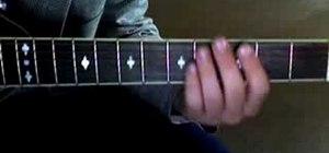 "Play Blake Shelton's ""Home"" on acoustic guitar"