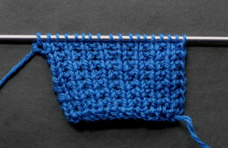 How to Knit the Double Lace Rib Stitch - NewStitchaDay.com