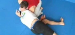 Do a Brazilian Jiu Jitsu Brabo Choke move