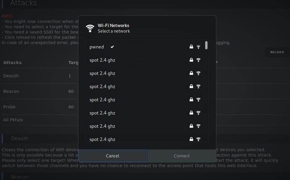 How to Scan, Fake & Attack Wi-Fi Networks with the ESP8266-Based WiFi Deauther