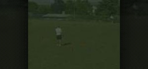 Practice the Chip & Catch soccer game
