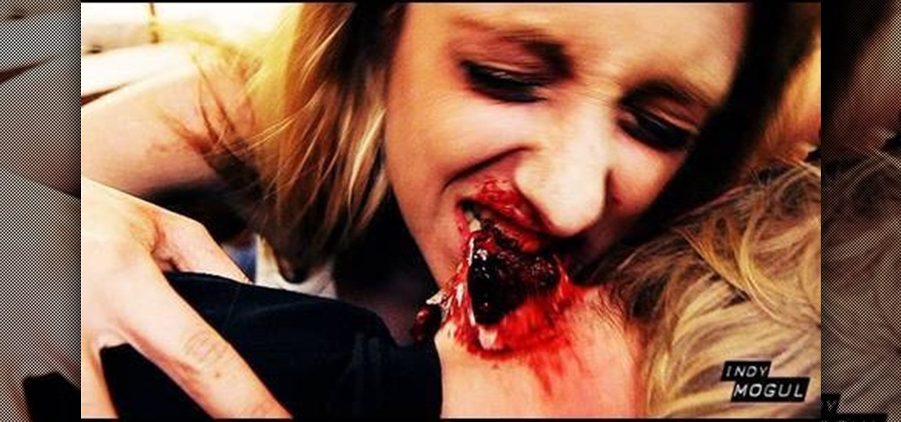 ... to Create a zombie bite special effect for film or tv « Props & SFX Horror Film Photography
