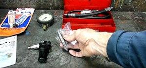 Build a DIY automotive cylinder leak down tester to test engine seals