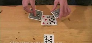 "Perform the ""eight card brainwave"" card trick"