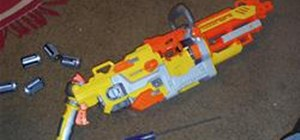 Change the Batteries in a Nerf Vulcan EBF-25 Blaster