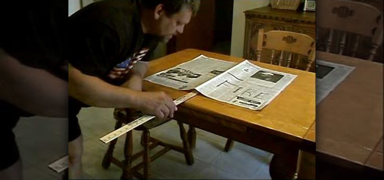 How To Break A Yardstick With Atmospheric Pressure