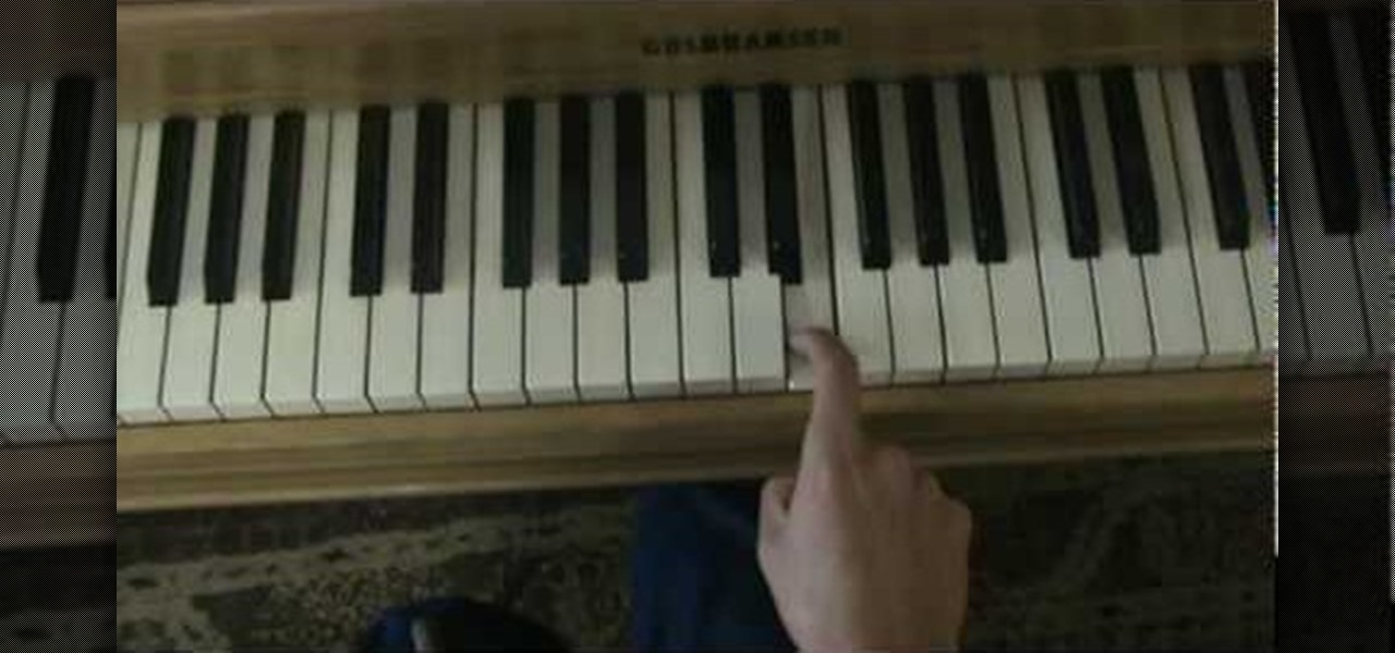 How To Play Use Somebody By Kings Of Leon On The Piano Piano