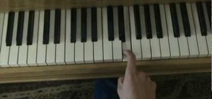 "Play ""Use Somebody"" by Kings of Leon on the piano"