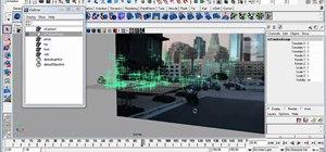 Import a MatchMover scene into Autodesk Maya 2010
