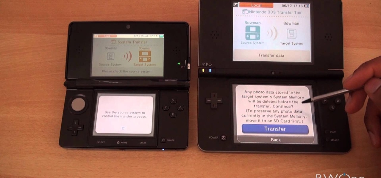 how to transfer content between a nintendo ds and a. Black Bedroom Furniture Sets. Home Design Ideas